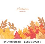 composition of multicolor... | Shutterstock .eps vector #1151969357