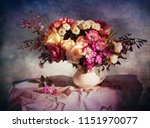 Still Life With Autumn Flowers...