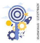 vector creative illustration of ... | Shutterstock .eps vector #1151978624