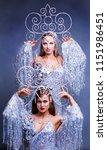 beautiful women striptease...   Shutterstock . vector #1151986451