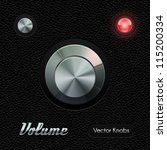 hi end ui analog volume knob...