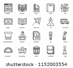 set of 20 icons such as chess ...