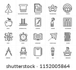 set of 20 icons such as... | Shutterstock .eps vector #1152005864