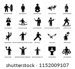 set of 20 simple editable icons ... | Shutterstock .eps vector #1152009107