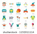 set of 20 icons such as ice...
