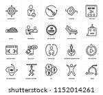 set of 20 icons such as agile ...