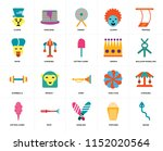 set of 20 icons such as snake ... | Shutterstock .eps vector #1152020564