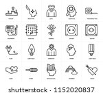 set of 20 icons such as heart ... | Shutterstock .eps vector #1152020837