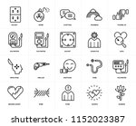 set of 20 icons such as garden  ... | Shutterstock .eps vector #1152023387