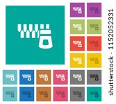 horizontal zipper multi colored ... | Shutterstock .eps vector #1152052331