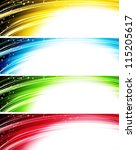 abstract banner | Shutterstock .eps vector #115205617