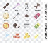 set of 16 icons such as oil ... | Shutterstock .eps vector #1152056801