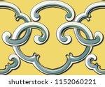 seamless relief sculpture...   Shutterstock .eps vector #1152060221
