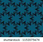 ornamental seamless pattern.... | Shutterstock .eps vector #1152075674