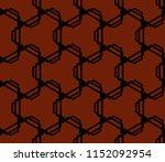 ornamental seamless pattern.... | Shutterstock .eps vector #1152092954