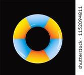 swim ring  vector design... | Shutterstock .eps vector #1152094811