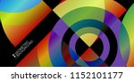 abstract colorful background...   Shutterstock .eps vector #1152101177
