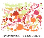 watercolor stains grunge... | Shutterstock .eps vector #1152102071