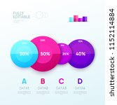 infographic design template.... | Shutterstock .eps vector #1152114884