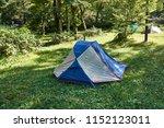 fall forest camp autumn hirayu... | Shutterstock . vector #1152123011