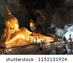 The Golden Budda Statue In The...