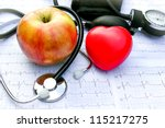 health care and healthy living | Shutterstock . vector #115217275