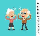 happy grandparents vector... | Shutterstock .eps vector #1152172814