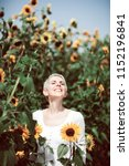 beautiful middle age woman in a ... | Shutterstock . vector #1152196841