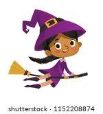 halloween african american... | Shutterstock .eps vector #1152208874