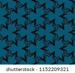 ornamental seamless pattern.... | Shutterstock .eps vector #1152209321
