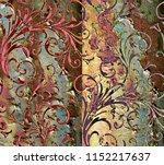 floor abstract texture... | Shutterstock . vector #1152217637