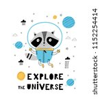 explore the universe. card... | Shutterstock .eps vector #1152254414
