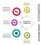 business infograph with... | Shutterstock .eps vector #1152260531