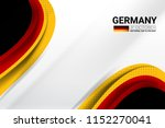 germany flag concept background ... | Shutterstock .eps vector #1152270041