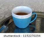 black coffee in a cup | Shutterstock . vector #1152270254