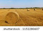 beverley  yorkshire  uk. bales... | Shutterstock . vector #1152280607