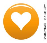 affectionate heart icon. simple ... | Shutterstock . vector #1152310394
