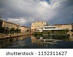 rijeka  croatia on the 15th of...   Shutterstock . vector #1152311627
