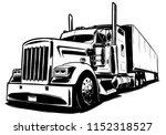 classic american truck | Shutterstock .eps vector #1152318527