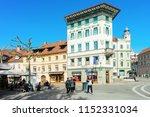 ljubljana  slovenia   april 29  ... | Shutterstock . vector #1152331034