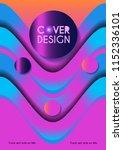 vector minimalistic cover... | Shutterstock .eps vector #1152336101