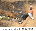 harare zimbabwe 18 july 2018.a ...   Shutterstock . vector #1152342137