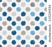 Seamless Pattern  Stylish Polk...