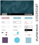 light blue  red vector material ...