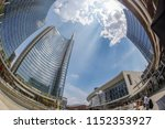 milan italy july 22 2018 wide... | Shutterstock . vector #1152353927