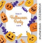 invitation card  banner or... | Shutterstock .eps vector #1152360014