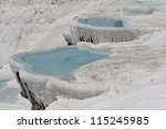 pamukkale   terraces of...   Shutterstock . vector #115245985