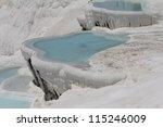 pamukkale   terraces of...   Shutterstock . vector #115246009