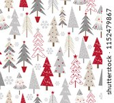 seamless christmas background... | Shutterstock .eps vector #1152479867