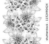 abstract elegance seamless... | Shutterstock . vector #1152490424